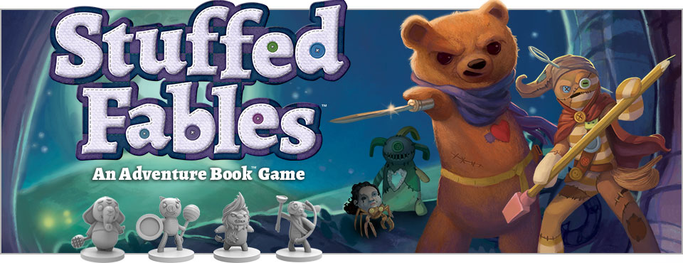 Stuffed Fables logo and art